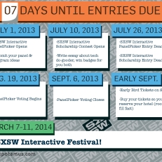 SXSW Registration Deadlines